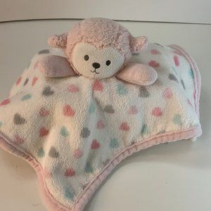 S L Home Fashions Lamb Security Blanket Lovey Soft